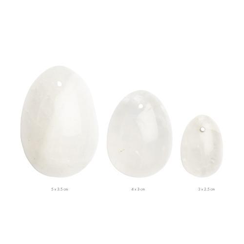 La Gemmes - 3-delige Yoni Egg Set - Bergkristal