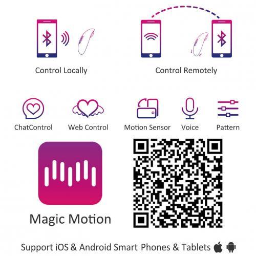 Magic Motion - Lotos App Controlled Mini Vibrator