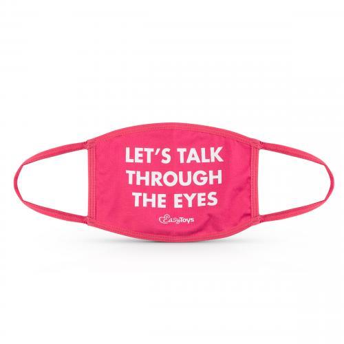 EasyToys Let's Talk Through The Eyes Mondmasker