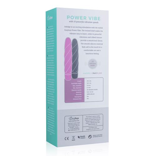 Roze Siliconen Vibrator