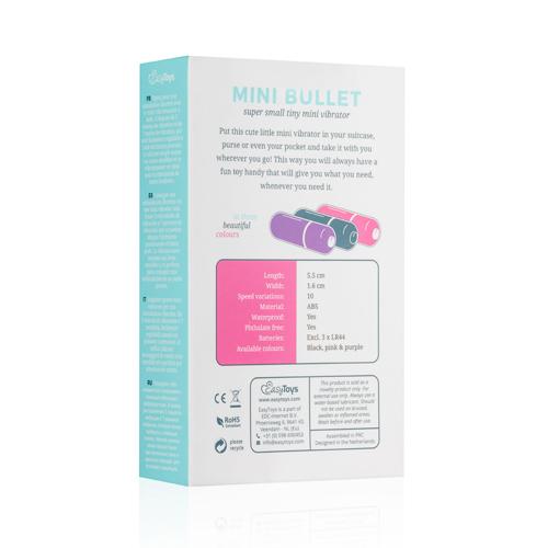 Bullet vibrator met 10 snelheden - roze