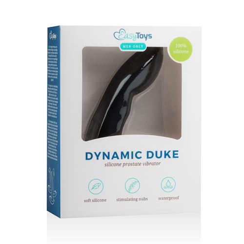 Dynamic Duke Prostaatvibrator - Zwart