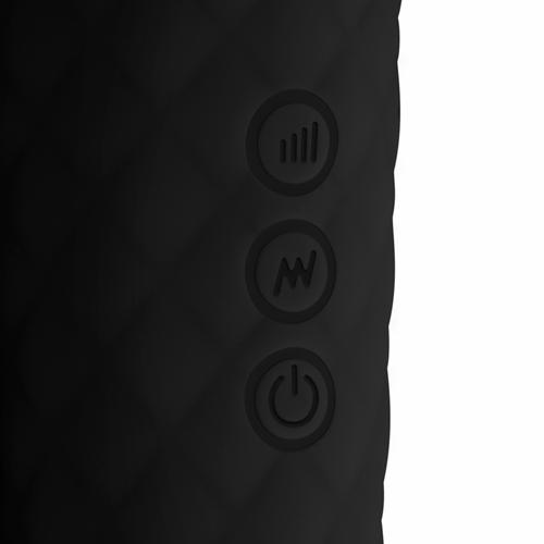 EasyToys Mini Wand Vibrator - Zwart