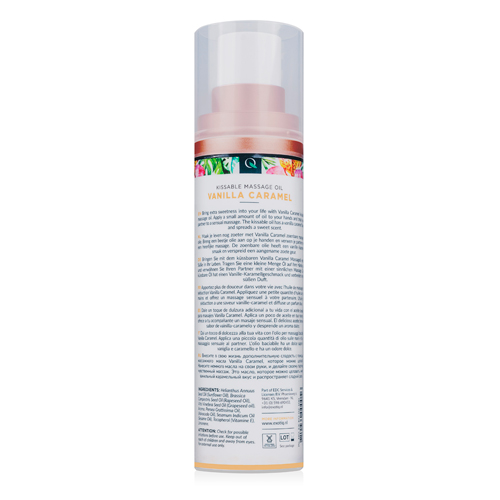 Exotiq Massageolie Vanilla Caramel - 100 ml