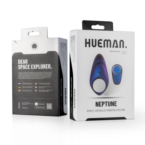 Hueman - Neptune Vibrerende Cockring + Afstandsbediening