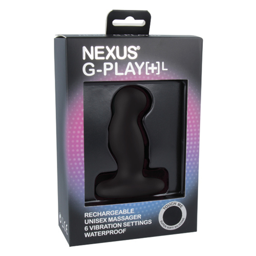 Nexus G-Play+ Unisex Vibrator - Large