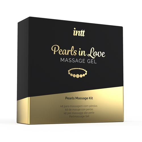 Pearls In Love Massage/Masturbatie Set