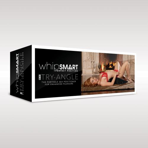 Whipsmart - The Mini Try-Angle Positiekussen Met Polsboeien
