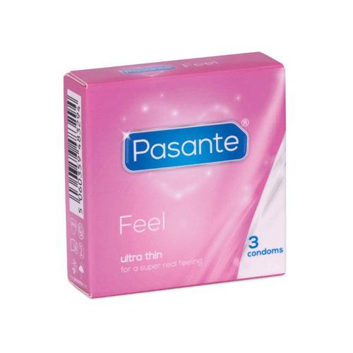 Préservatifs Pasante Feel 3 pièces