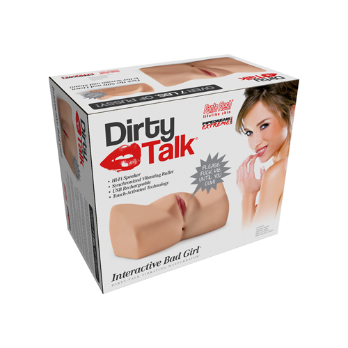 Dirty Talk - Interactive Bad Girl Masturbator