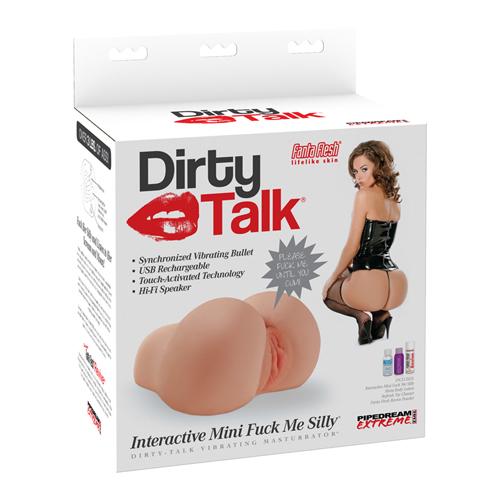 Dirty Talk Interactive Mini Fuck Me Silly Masturbator