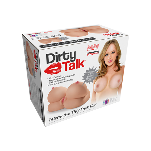 Dirty Talk - Interactive Titty Fuck-Her Masturbator