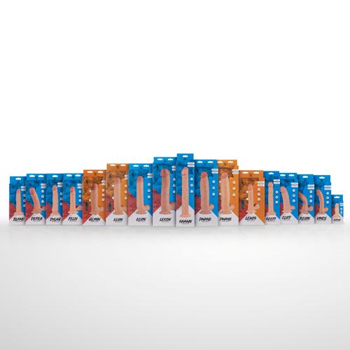 Blane Realistische Dildo Met Zuignap - 16.5 cm