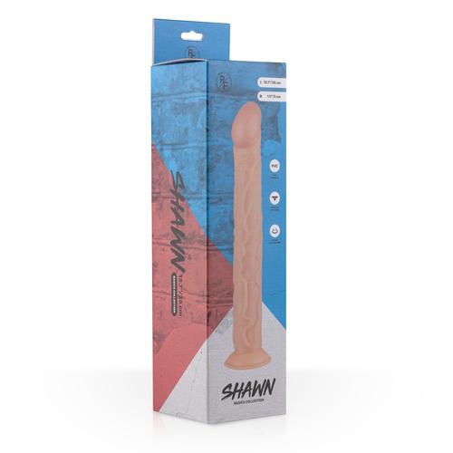 Shawn Realistische Dildo Met Zuignap - 31 cm