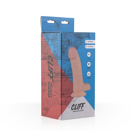 Cliff Realistische Dildo Met Balzak - 16 cm