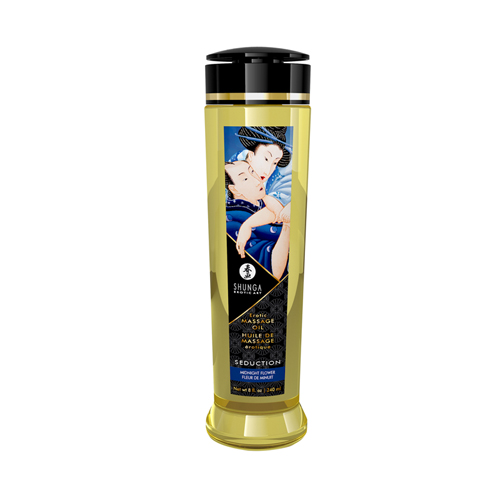 Shunga - Seduction Massage Olie Midnight Flower - 240 ml