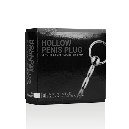 Hollow Penis Plug With Pull Ring image .5