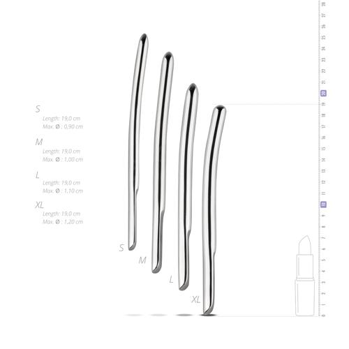 Sinner - Metalen Dilator Set 4 Stuks