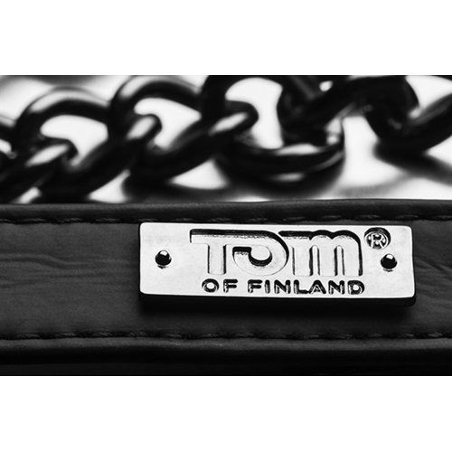 Tom Of Finland Neoprene Gun Metal Leash image .2