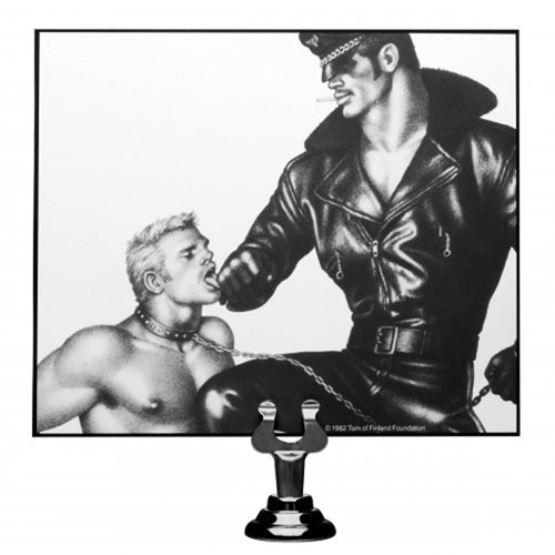 Tom Of Finland Neoprene Gun Metal Leash image .4