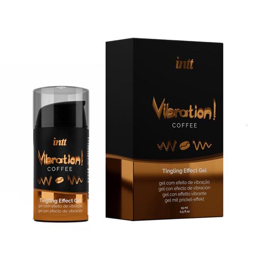 Vibration! Coffee Tintelende Gel