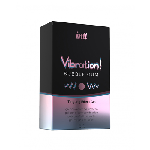 Vibration! Bubble Gum Tintelende Gel