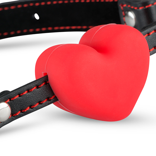 Heart Ball Gag