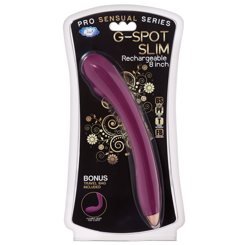 G-Spot Slim Flexibele Vibrator - Paars