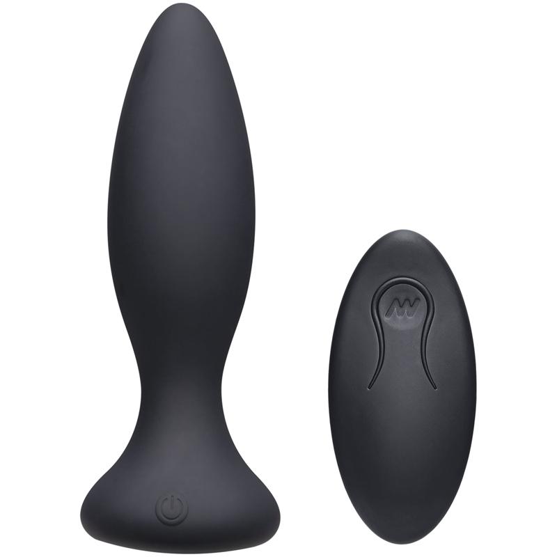 Vibe Beginner Vibrerende Buttplug – Zwart