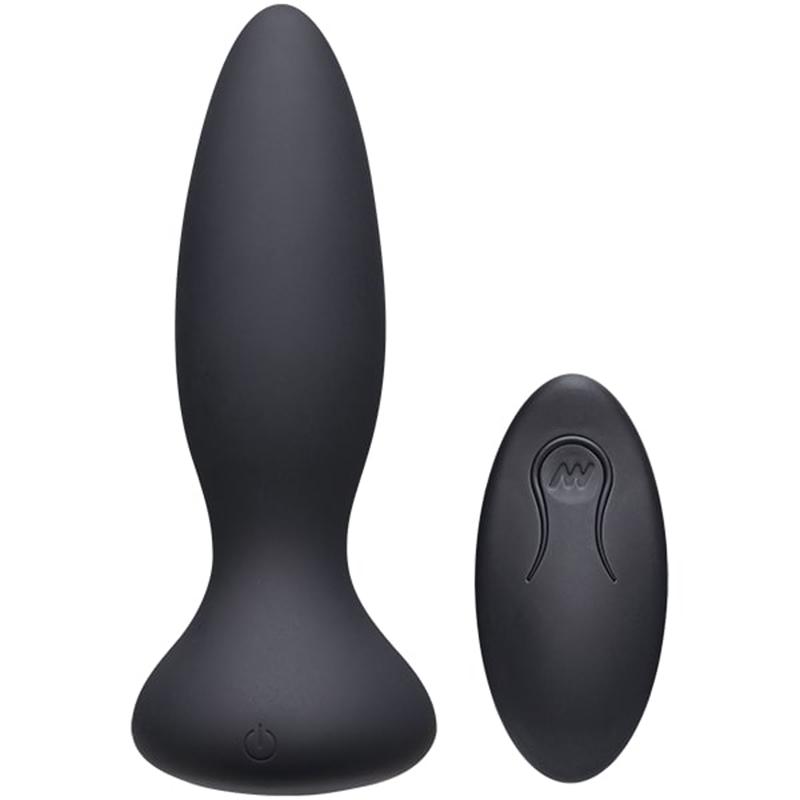Tapón anal vibratorio Vibes Adventurous - Negro