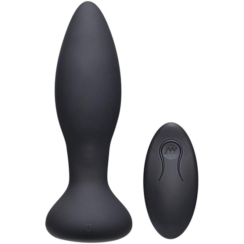 Vibe Experienced Vibrerende Buttplug – Zwart