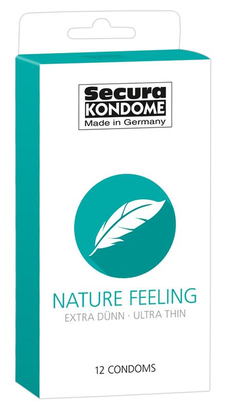 Condones Nature Feeling - 12 piezas