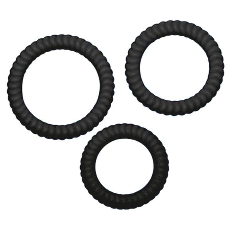 Lust - 3 Penis rings image