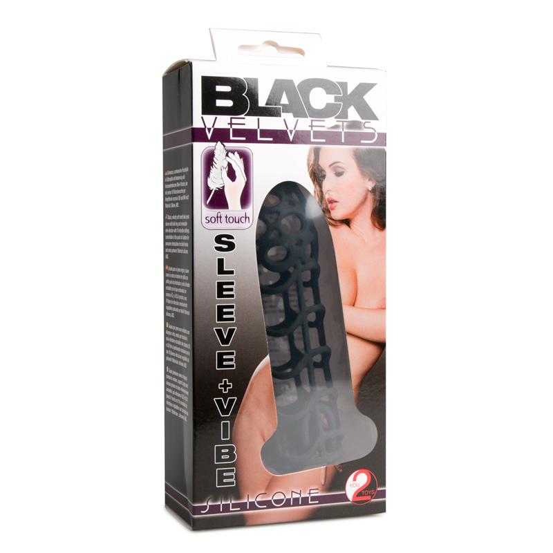 Black Velvet Vibrerende Penis Sleeve