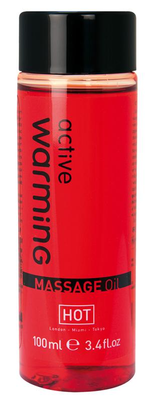 Aceite de masaje HOT efecto calor activo, 100 ml