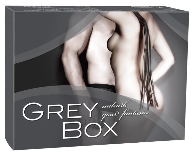 You2Toys - Caja de regalos de sumisión gris.
