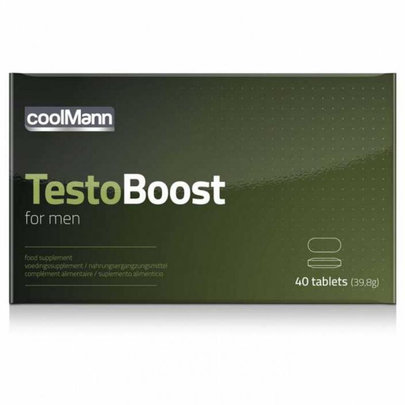 Estimulante CoolMann Testoboost - 40 comprimidos