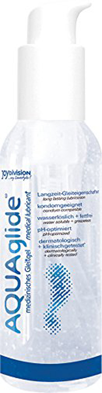AQUAglide Waterbasis Glijmiddel – 125ml