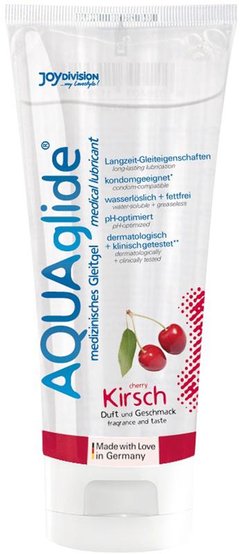 AQUAglide Cherry Lubricant - 100 ml