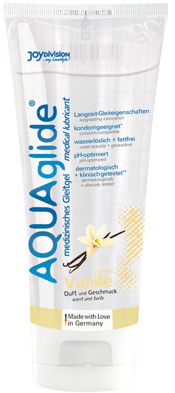 AQUAglide Vanilla Lubricant - 100 ml