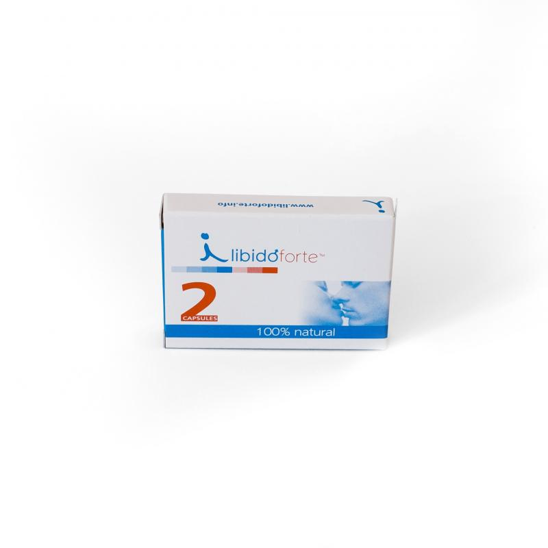 LibidoForte - Para hombres - 2 cápsulas