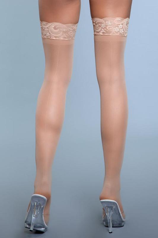 Medias de muslo alto Guardar un secreto - Desnuda