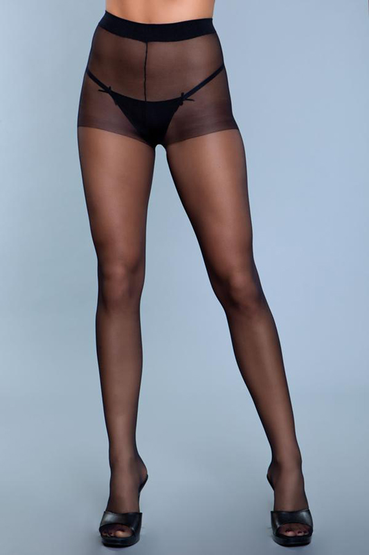 Skin To Skin High-Waist Pantyhose - Negras