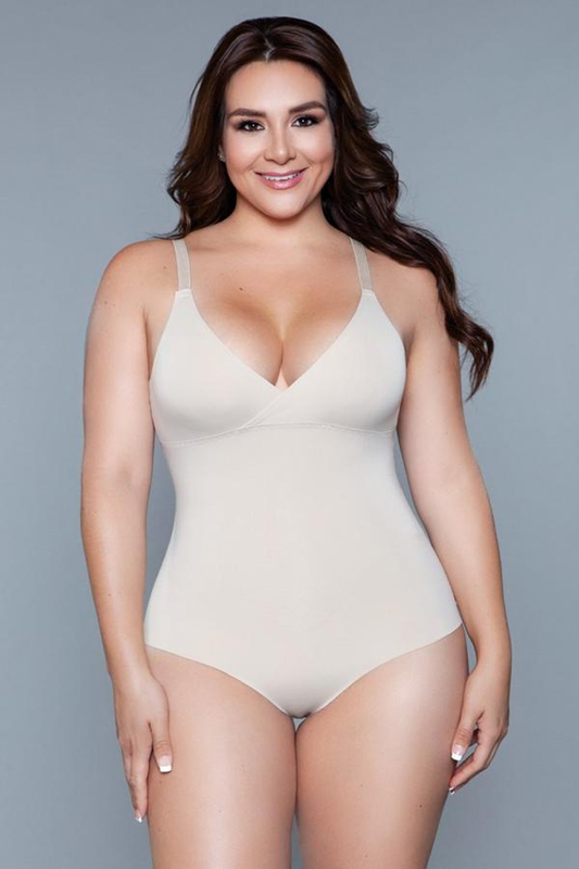 What Waist Corrigerende Body - Beige