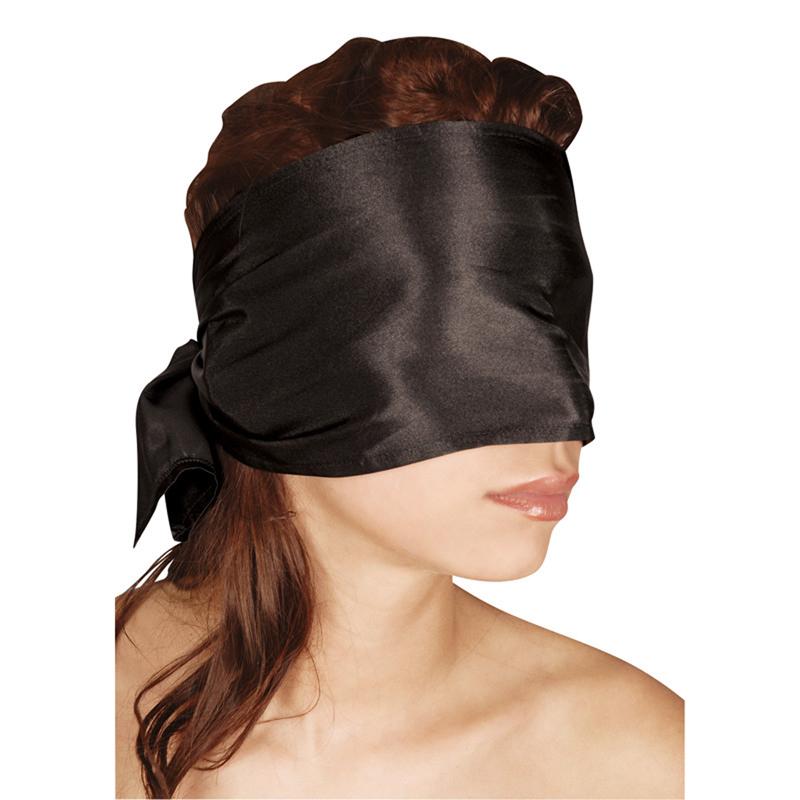 Bufanda larga negra