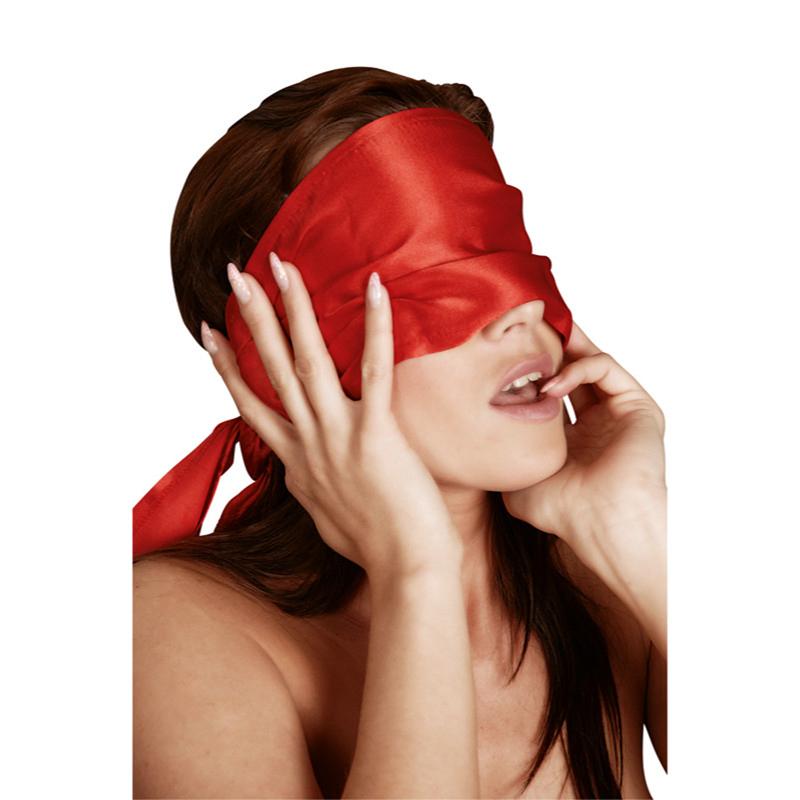 Bufanda roja larga