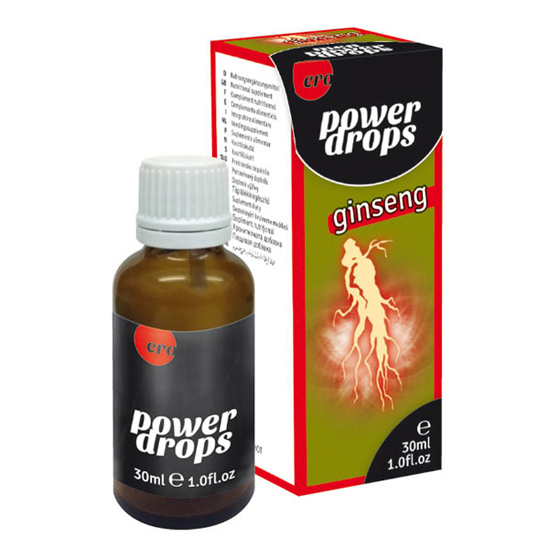Power Ginseng Drops - Hombres 30 ml