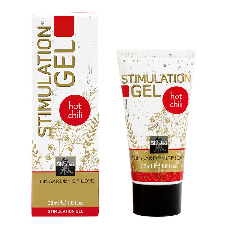 Shiatsu Stimulation Gel - Hot Chili