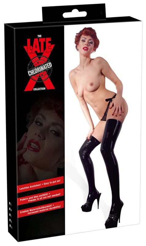 Latex Stockings image