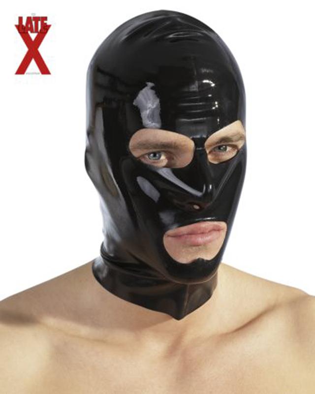 Capucha de látex negra